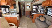 Southern RV Hire - RV Interior 1