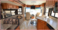 Southern RV Hire -  RV Interior 2